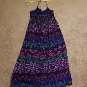 Xhilaration maxi halter dress